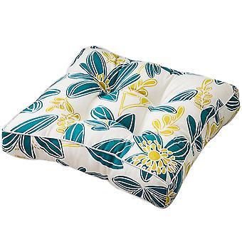 Four nails cotton canvas square printed cushion