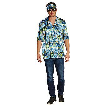 Hawaje Koszula męska kostium Carnival Carnival Magnum
