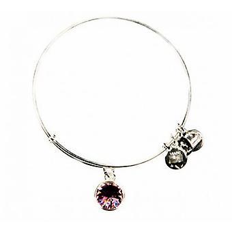Alex and Ani June Birthstone Charm Bangle Bracelet - A09EB245S