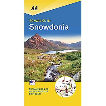 50 Walks in Snowdonia & North Wales - 9780749581220 Book