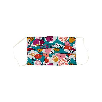 Mio SB1 Bloom Bouquet Multi Floral Cotton Face Mask with Removable Nose Wire