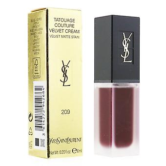 Yves Saint Laurent Tatouage Couture samt Creme samt Matt Fleck - 209 antisoziale Pflaume - 6ml/0,2 Unzen