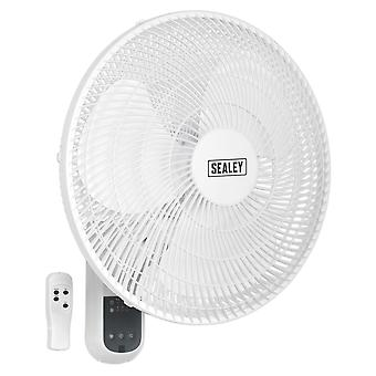 Sealey Swf16Wr Wall Fan 3-Speed 16 With Remote Control 230V