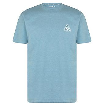 Gul Mens Logo T-Shirt Crew Neck T Shirt Tee Top Short Sleeve Ribbed Trims