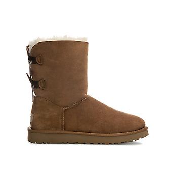 Women's Ugg Australia Bailey Bow II Boots in Brown
