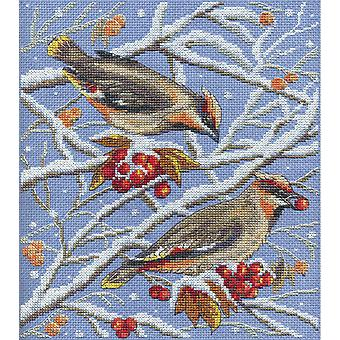 Panna Cross Stitch Kit : Winter Feeding