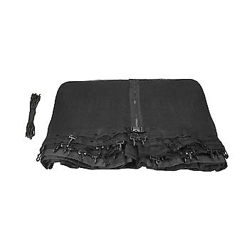 Replacement Trampoline Enclosure Surround Safety Net for Rectangular Frames