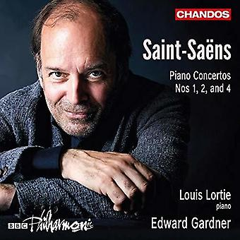 Saens / Lortie - Piano Concertos [CD] USA import