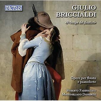 Briccialdi / Fabbriciani / Damerini - Principe Dei Flautisti [CD] USA import
