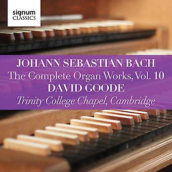 Complete Organ Works 10 [CD] USA import