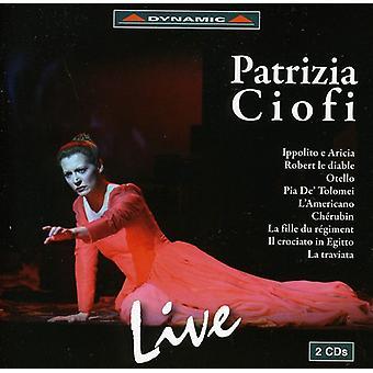Patrizia Ciofi - Patrizia Ciofi Live [CD] USA import