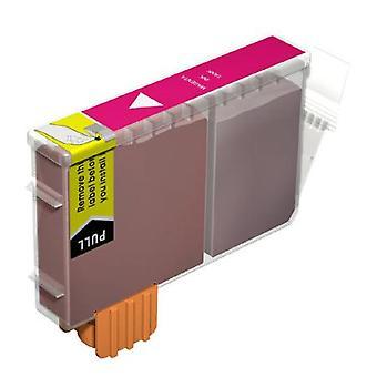 RudyTwos de reemplazo para Canon BCI-18:00 tinta cartucho Magenta Compatible con PIXMA iP4000, iP5000, MP750, MP780, i865