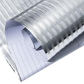 Papel de parede de cozinha Adesivos de papel de parede à prova de água para a decoração de móveis à prova de óleo e armários de adesivos impermeáveis