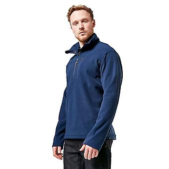 Brasher Men's Half Zip Fleece Blue