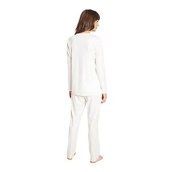 Féraud High Class 3201192-11697 Frauen's Elfenbein Baumwolle Pyjama Set