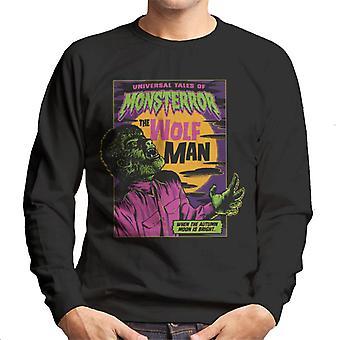The Wolf Man Tales Of Monsterror Men's Sweatshirt