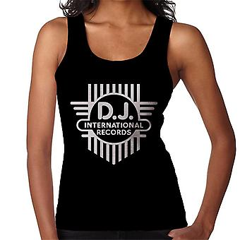 DJ International Classic Cross Logo Women's Vest