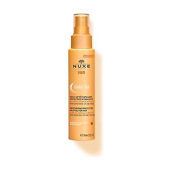 Nuxe Sun - Fuktgivande skyddande hår mjölk 100 ml (Kokos - Orange - Blommig)