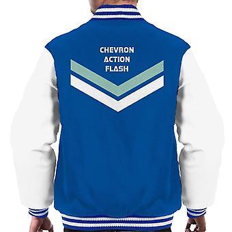 Chevron Action Flash Alan Partridge Homme-apos;s Veste Varsity