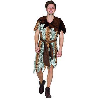 Cave Man Men's Caveman Stone Age Man Costume Carnival