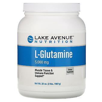 Lake Avenue Nutrition, L-Glutamine Powder, Unflavored, 5,000 mg , 32 oz (907 g)