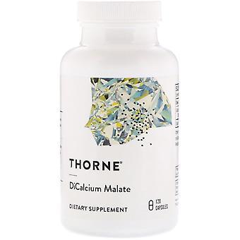 Thorne Research, Dicalcium Malate, 120 Capsules