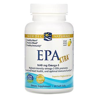 Nordic Naturals, EPA Xtra, Citron, 1000 mg, 60 Mjuka Geler