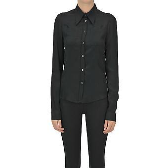 N°21 Ezgl068210 Femme-apos;chemise en acétate noir