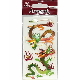 Kiinan Dragon II kortti koristeet Artoz