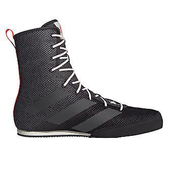 أديداس مربع خنزير 3 الملاكمة مدرب حذاء الحذاء الأسود / رمادي
