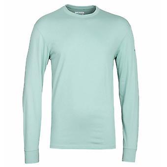 Columbia Cades Cove Aqua Langarm T-Shirt