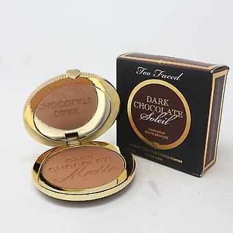 Chocolat trop face Soleil Matte Bronzer 0.28oz/8g Nouveau avec boîte