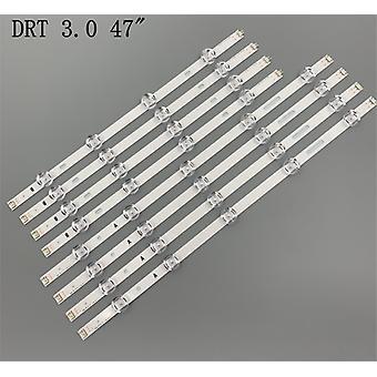 Bandă de iluminare de fundal cu led(4*a+4*b)