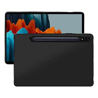 Back Cover Galaxy Tab S7 11.0 Ultra Thin and Light Silicone - Black