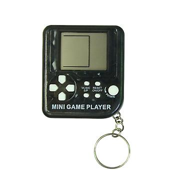 Mini Classic Retro Nostalgic Game Console With Keychain Tetris Video Game Handheld Game Players Electronic Toys