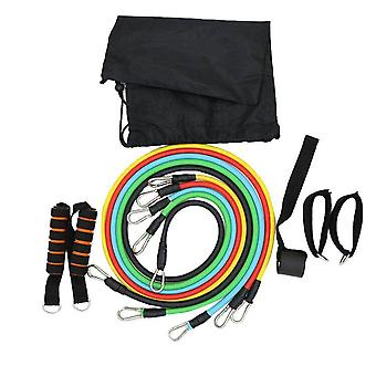 11pcs/set Fitness Training-Workout Resistance Bands