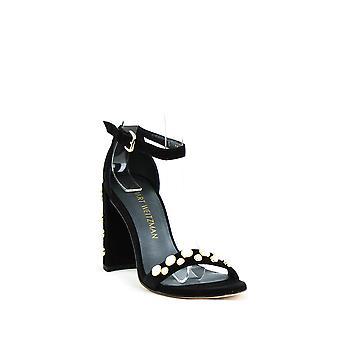 Stuart Weitzman | Morepearls Pearl Studded Block Heels