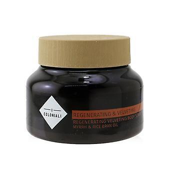 Regenerating & Velveting - Regenerating Velvety Body Scrub - 230g/7.9oz