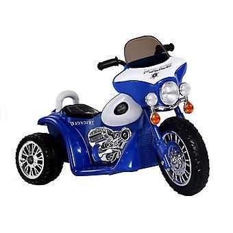 Blauwe elektrische rit op motorfiets JT568