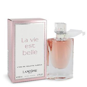 La Vie Est Belle Florale Туалетная вода Спрей от Lancome 1,7 унции Туалетная вода Спрей