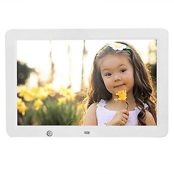 12 Inch Hd Digital Photo Frame With Wireless Remote Control, Motion Senser And