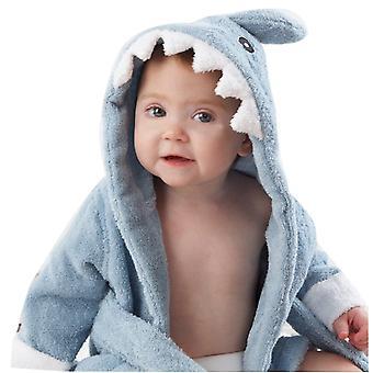 Children Pajamas Cartoon Printed Sleepwear Baby Bathrobe