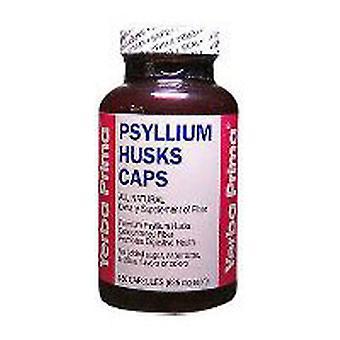 Yerba Prima Psyllium Husks, (Gelatin) 180 Caps