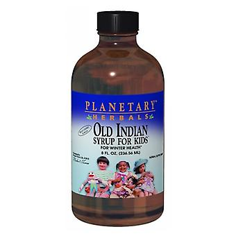 Planetary Herbals Old Indian Syrup for Kids, 8 oz