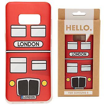 Samsung 8 Phone Case - London Bus