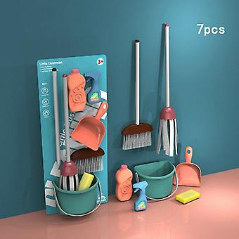 Children's Educational Simulation Play House Toy- And Training Cleaning Tool