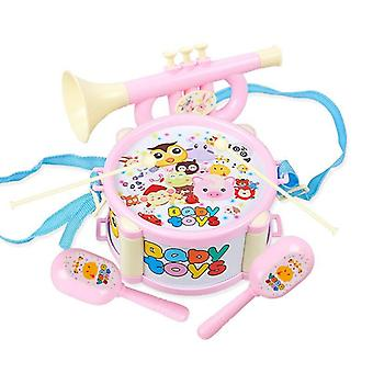 Kinderen Drum Trumpet Toy Musical Instrument Set Percussion Band Vroeg