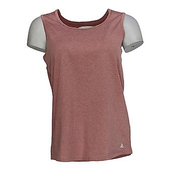Anybody Women's Top Move Active Stretch Jersey Tank Pink A349819