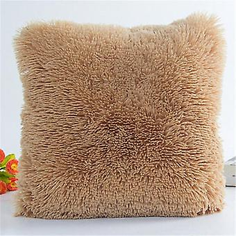 Soft And Plush, Square Shaped Decorative Pillow Cover