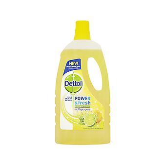 Reckitts Dettol Power & Fresh Lemon & Lime 1L